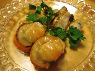 ホタテ燻製&牡蠣燻製のオイル漬け