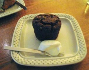 チョコオレンヂ風味ケーキ