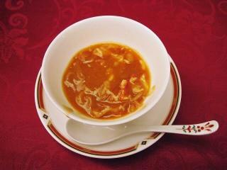 フカヒレ&蟹肉入りスープ
