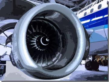 エアバス A321のエンジン