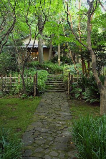 名主の滝公園の茶室