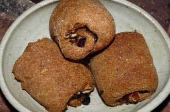 くるみレーズンパン(レーズン酵母)