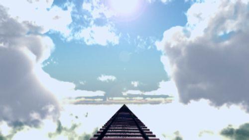 雲+レール