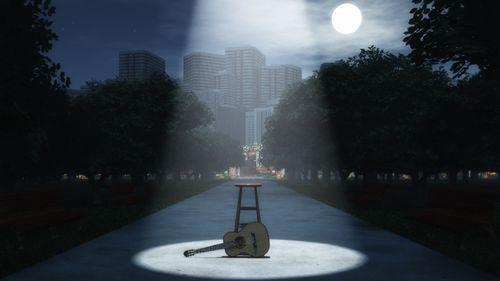 公園+ギター