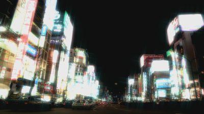 夜景素材+フィルタ