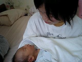 1号と赤ちゃん