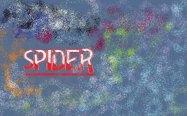 SPIDER PAINTING STYLE