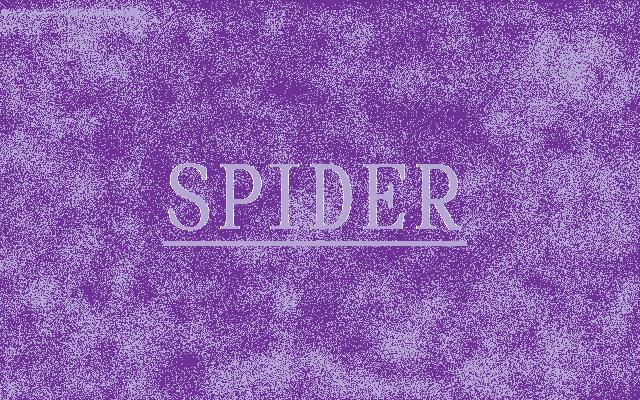 SPIDER 紫