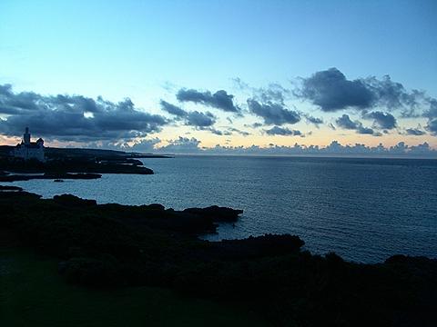 宮古島の朝日