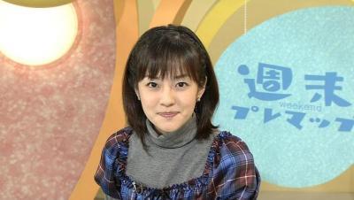 鈴木菜穂子アナ