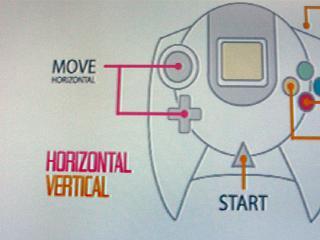 キーコンフィグ。ボタンの配置変更はできませんが、コントローラを縦画面で遊べるように設定できます。