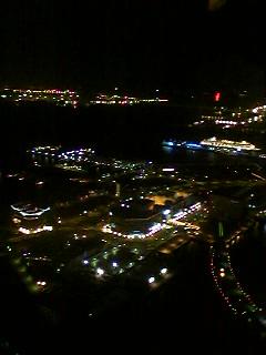 60階からの夜景