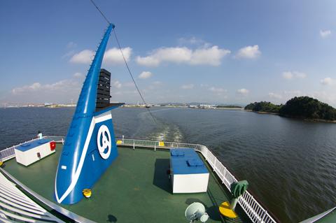 ②船上風景