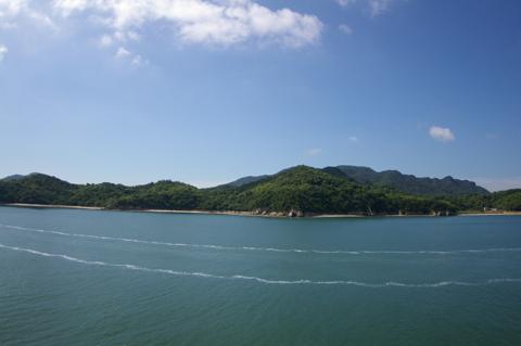 ⑤ポニョの島
