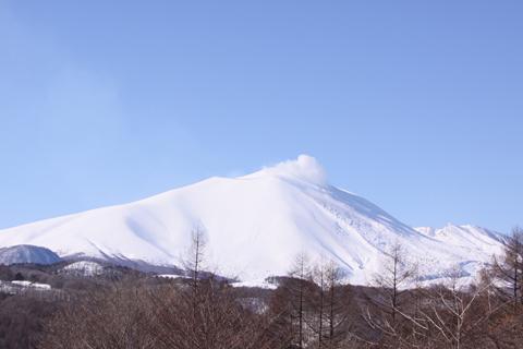①晴天の浅間山