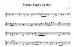 Shabby Eagle's jig (楽譜)