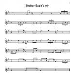 Shabby Eagle's Air 第一バイオリン 楽譜