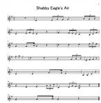 Shabby Eagle's Air 第二バイオリン 楽譜