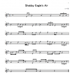 Shabby Eagle's Air 楽譜