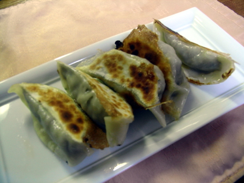 秋刀魚餃子