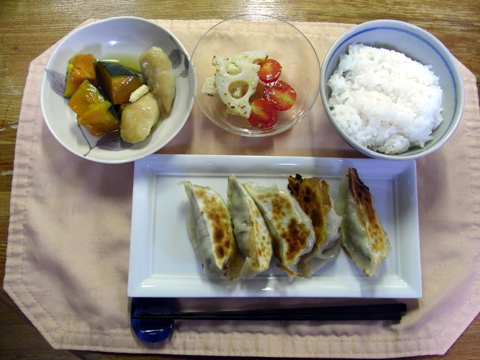 秋刀魚餃子全体
