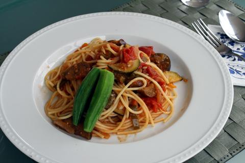 夏野菜パスタ2