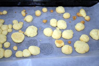 子どもたちクッキー