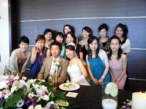 めぐちゃん結婚式