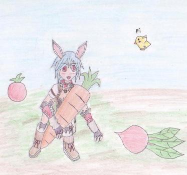野菜 to ウサコ!