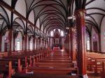 黒崎教会内部