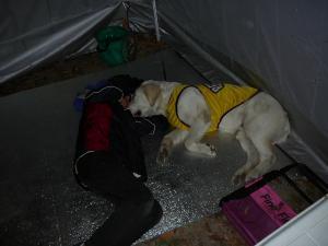 20090504キャンプ就寝