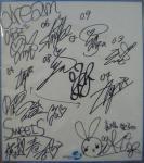 2ndxmasのサイン色紙