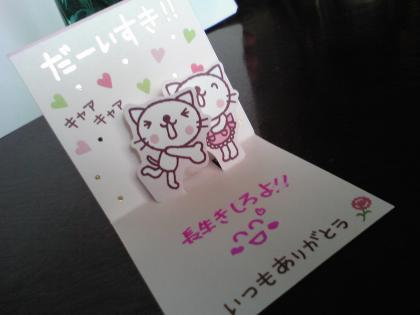 母の日のプレゼント (3)