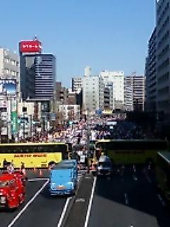 東京マラソン品川