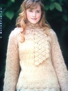 hanaのマフラーとセーター