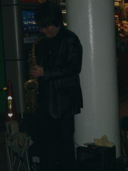 品川のストリートミュージシャン