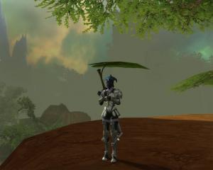 雨を葉っぱでシノギマス