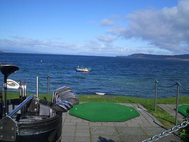 ゴルフ タウポ湖