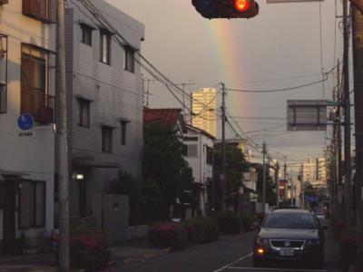 東京の虹1