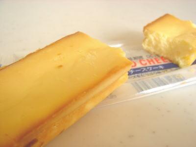 ローソンのチーズケーキ