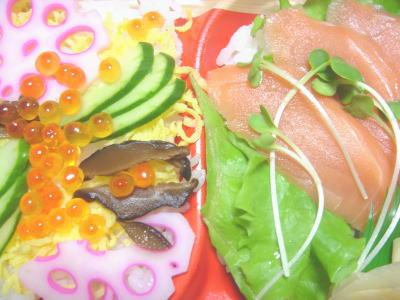 二色ちらし寿司