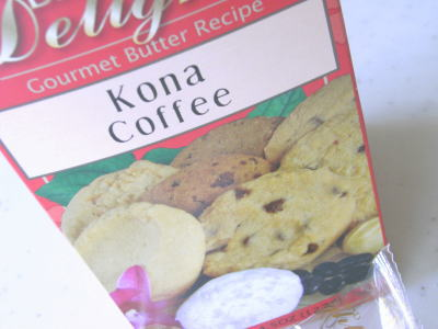 BIG ISLAND DELIGHTS コナコーヒークッキー