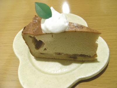 桃衣ランチ(酒粕のチーズケーキ)