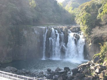 関之尾の滝