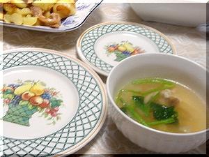 たくさん野菜のスープ