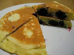 ブルーベリーホットケーキ