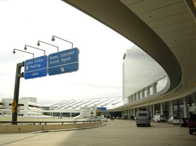 ダラスの空港で