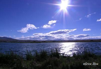 ニメス湖 近景