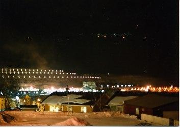鉄山の夜景