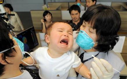 新型インフルエンザ 診察